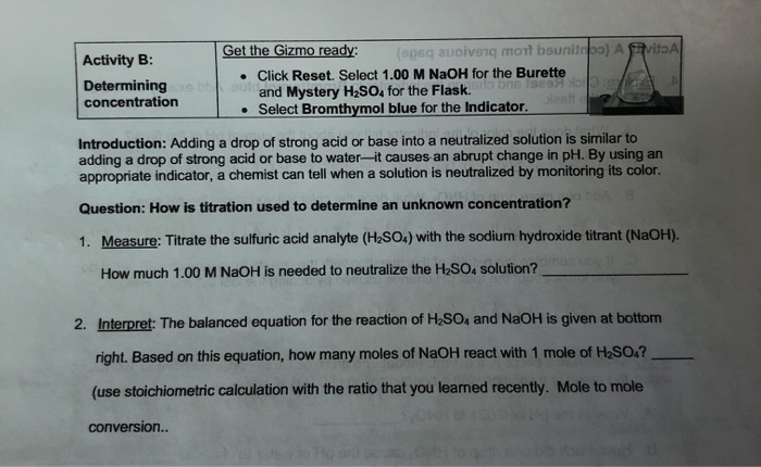 Student Exploration Moles Worksheet Answers - Student ...
