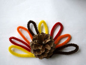 Pincone Turkey DIY Craft - Step 4