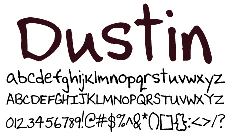 click to download Dustin