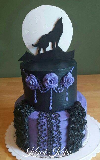 Gothic/ Wolf cake   Kourt Kakes   Pinterest   Wolf cake