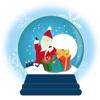 Quang Tran Vinh - Snow Globe Christmas Sticker artwork