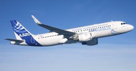 A320 con sharklet