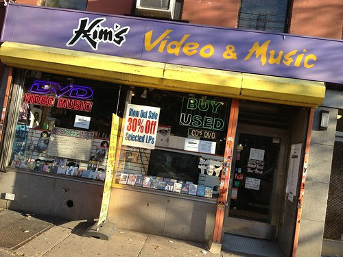 Record Store Visit: Kim's Video & Music - New York, NY - 11/21/12 by Tim PopKid