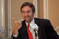 John Ackerman, analista político. Foto: Miguel Dimayuga