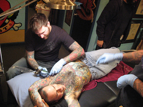 """you should get a tattoo, the tattoo god will tell you that it is time."""""""
