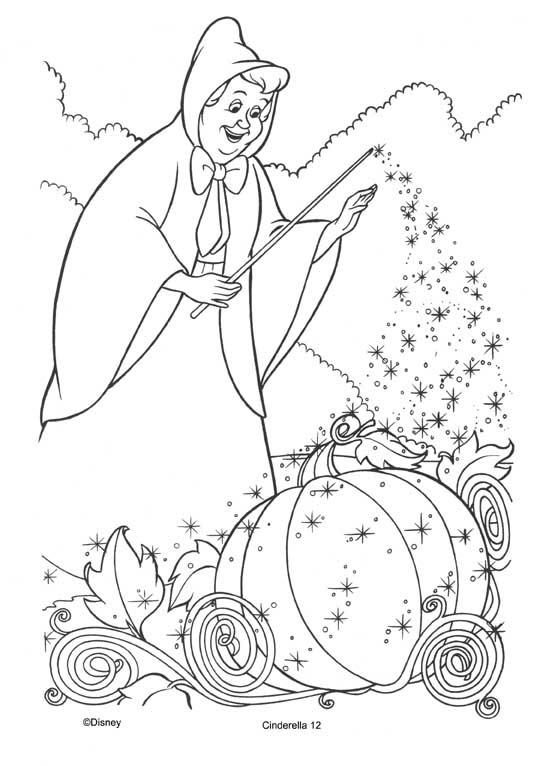 Cenicienta Dibujos Para Colorear Disneydibujoscom