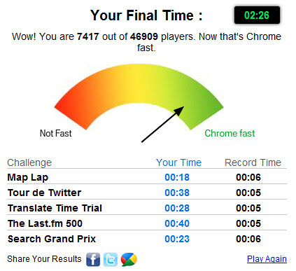 google crome fastball