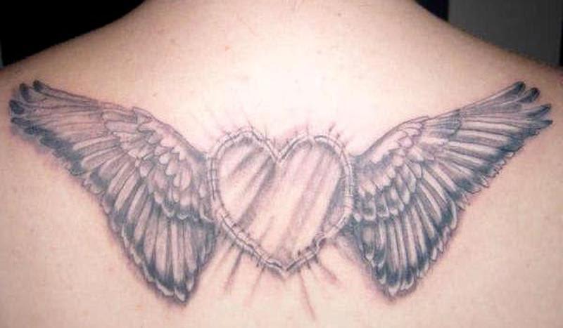 Heart Angel Wings Tattoo Tattoos Book 65000 Tattoos Designs