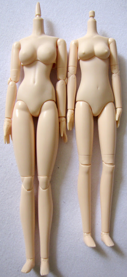 Obitsu Comparison - Full bodies