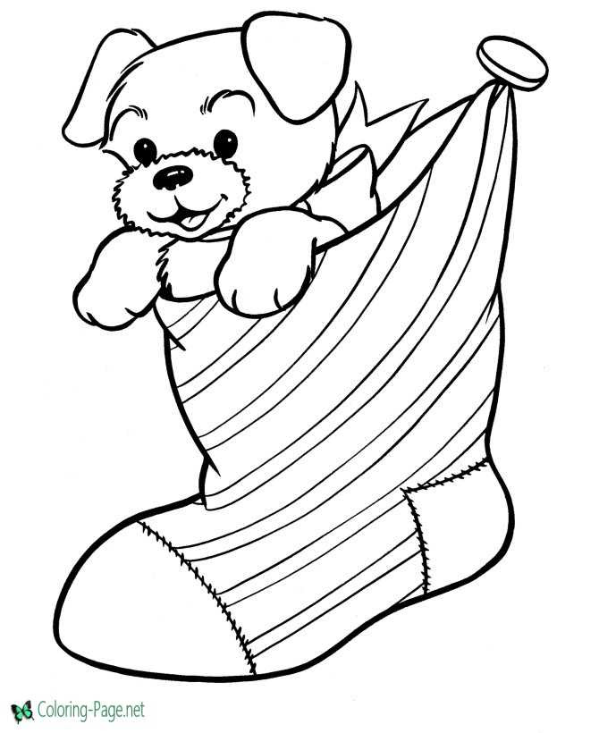 63 Coloring Pages Of Christmas  Images