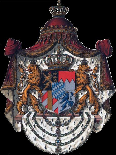 Archivo:Wappen Deutsches Reich - Königreich Bayern (Grosses).png