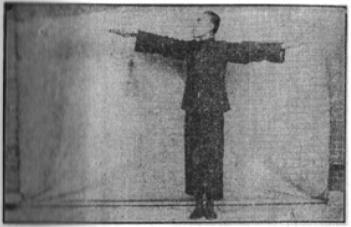 《昆吾劍譜》 李凌霄 (1935) - posture 8