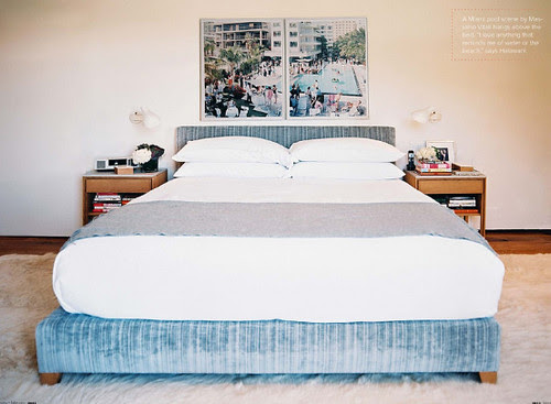 bedroom by trip haenrisch via lonny