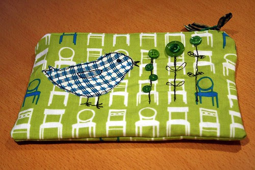 Make up pouch for a friend