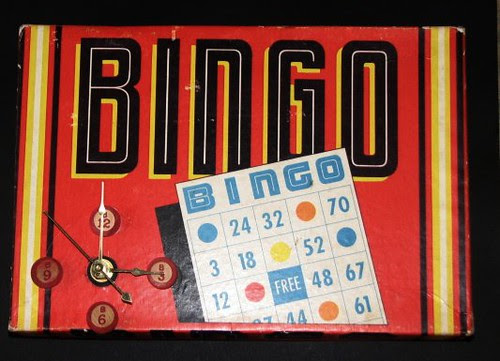 Vintage Game Clock 011
