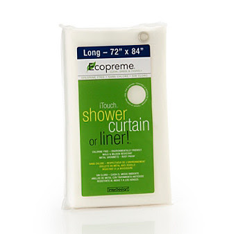 Product: InterDesign® Ecopreme® iTouch® Shower Curtain or Liner!