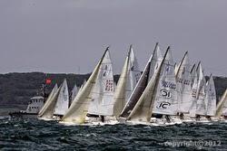 J/80s sailing off GPEN, France
