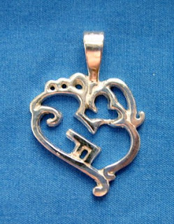 unique sterling silver custom pendant