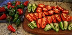 chopped chiles