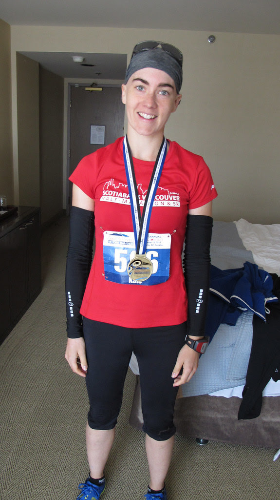 Kate After The Race