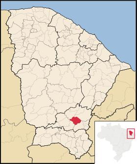 Localização de Cedro
