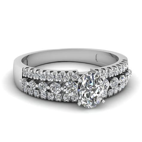 Oval Cut Engagement Rings   Fascinating Diamonds
