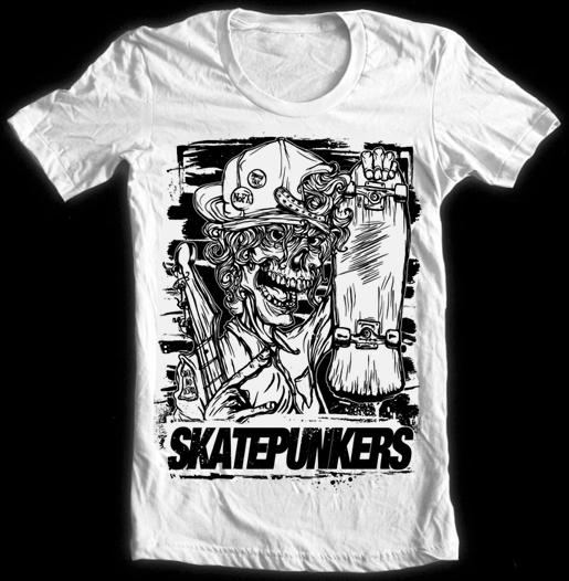 <center>White skatepunkers tshirts for sale</center>