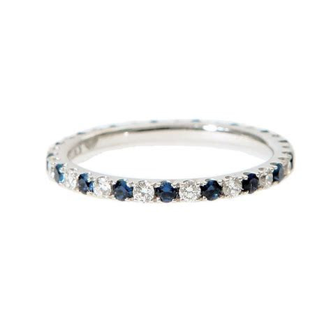 Editor's Favorites: Women's Wedding Bands   Sapphire