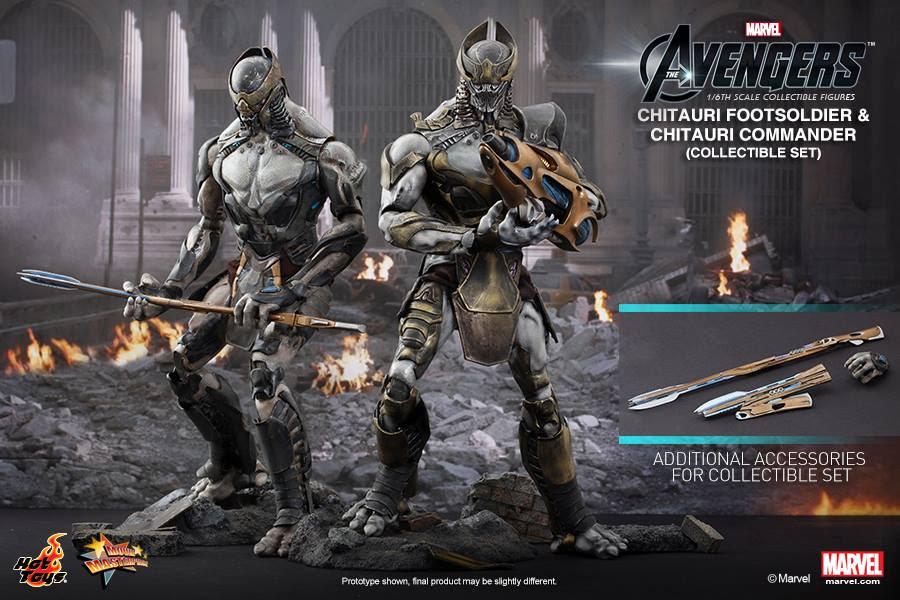 Chitauri Footsoldier and Chitauri Commander 1