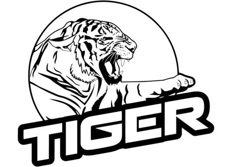 Coloriage Tigre.Imprimable Coloriage Tigre A Imprimer Coloriage A Imprimer