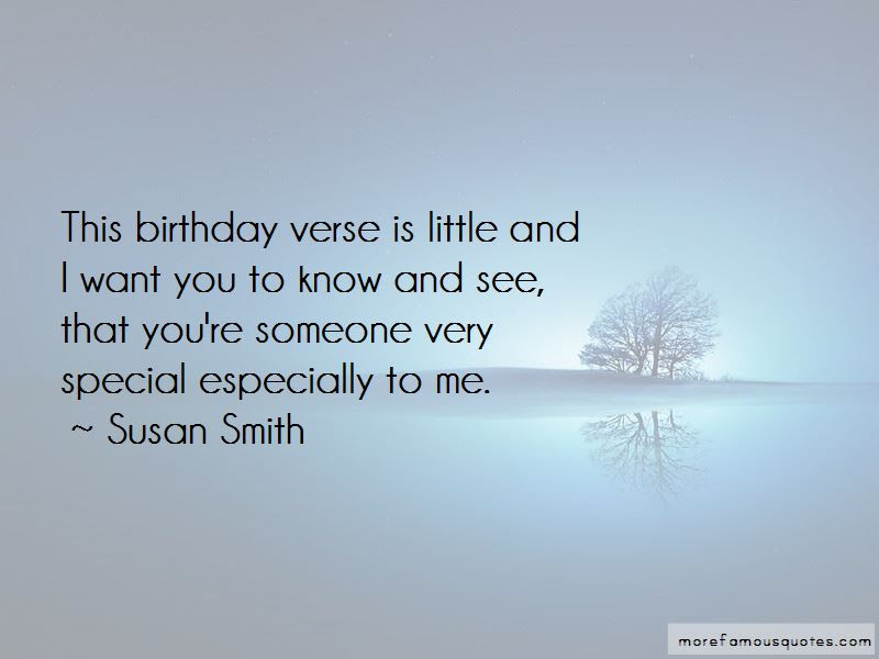 Quotes About Someone Special Birthday Top 2 Someone Special