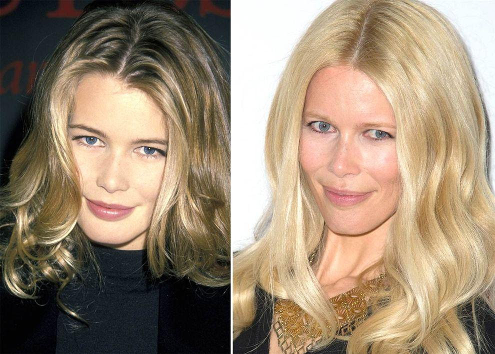 Supermodels03 Supermodels Then and Now