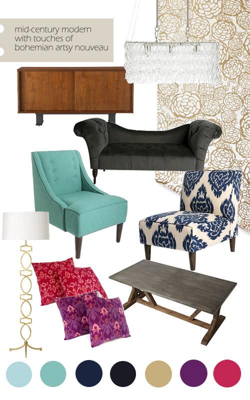 living-dining-room-inspiration-board