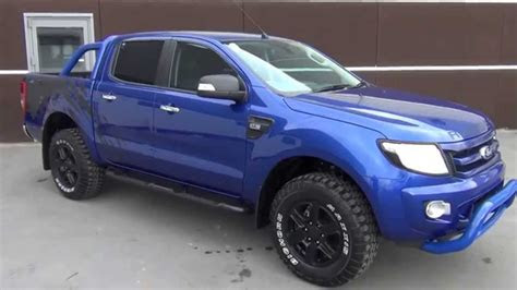 ford ranger raptor blue ford cars review release