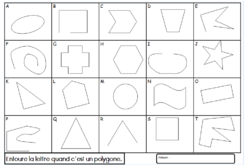 Les polygones : Séquence complète