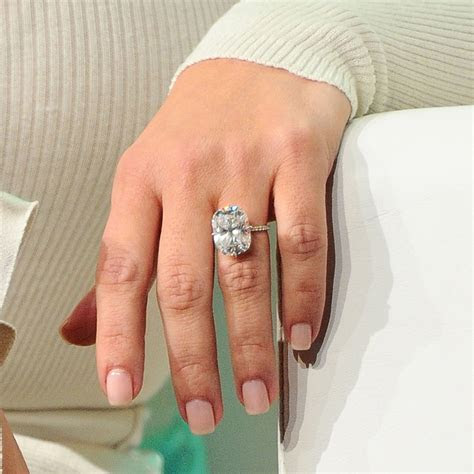 Would you wear an 80 Carat diamond engagement ring?