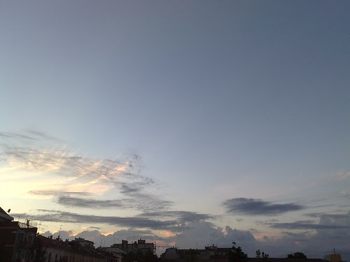 Tramonto con le nuvole by durishti