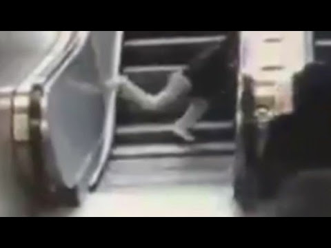 A boy was SWALLOWED by an escalator in Turkey | Horrifing footage