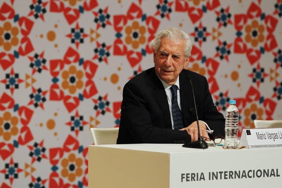 Mario Vargas Llosa en Guadalajara.