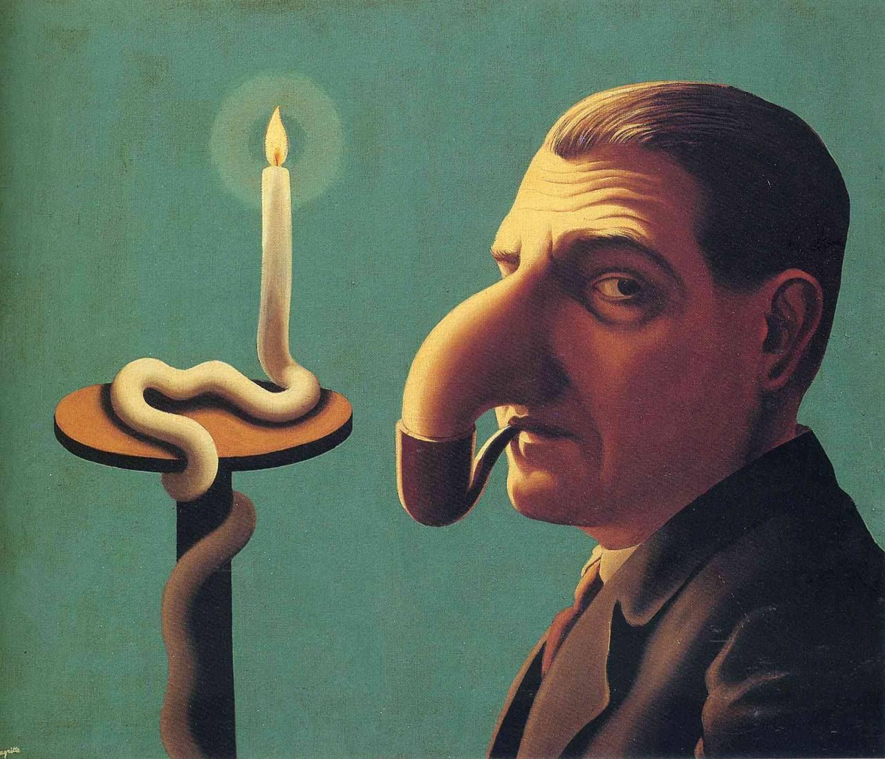 Philosopher's lamp,1936 Rene Magritte