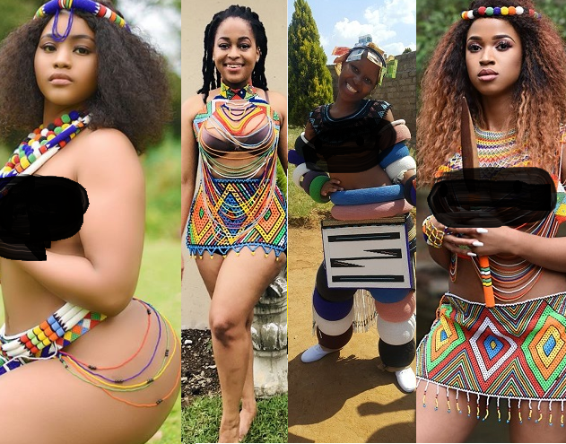 South African Ladies Show Off Their Sexy Curves And Stunning Beauty As They Celebrate Heritage Day