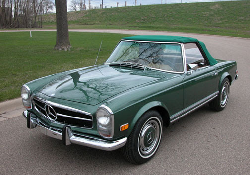 Another Pristine Lake Country Classics Restored Mercedes ...
