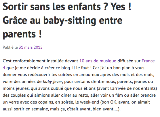 lettre de motivation baby sitter en anglais