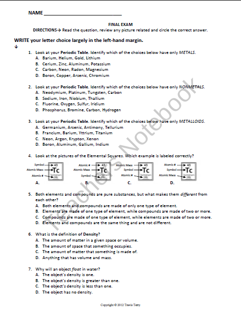 Asexual Reproduction Worksheet 7th Grade Answer Key ...