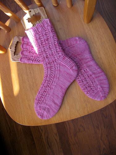 Fancy Not-Silk Socks