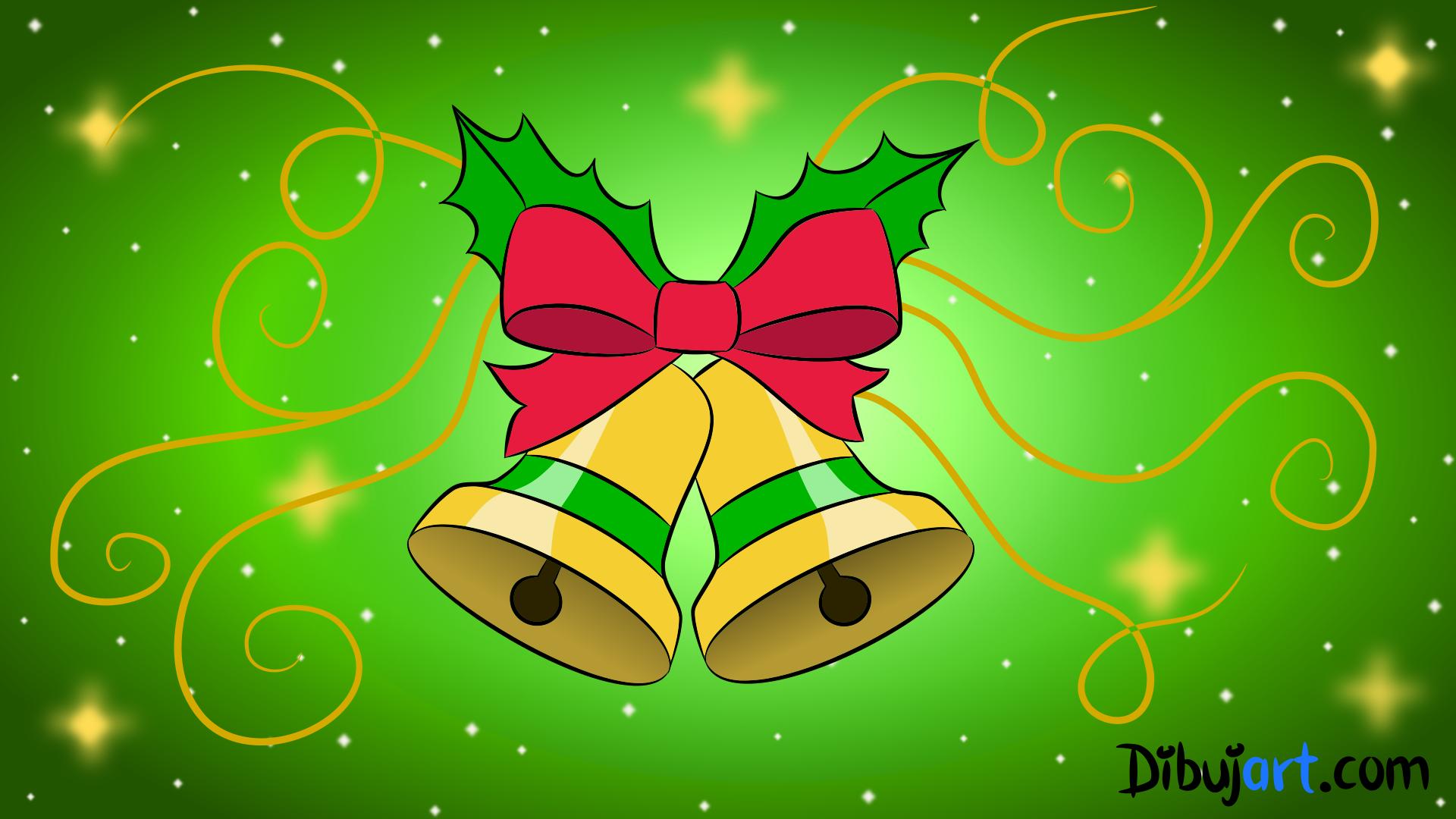 Cómo Dibujar Unas Campanas De Navidad Paso A Paso Dibujartcom