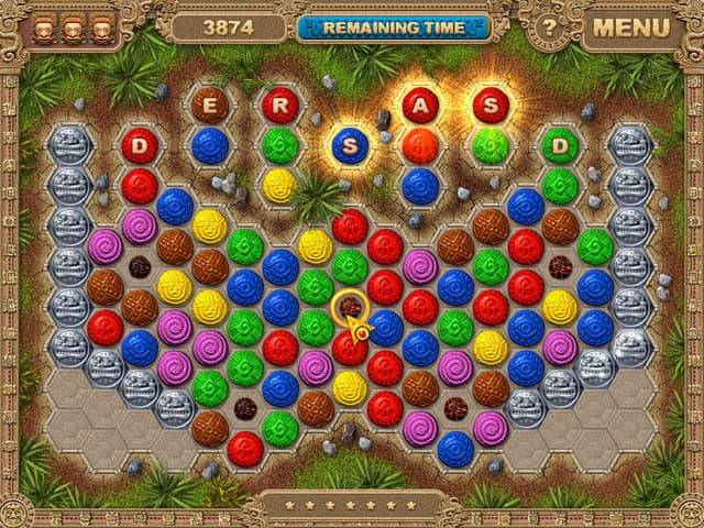 Azteca Puzzle Free PC Game Screenshot
