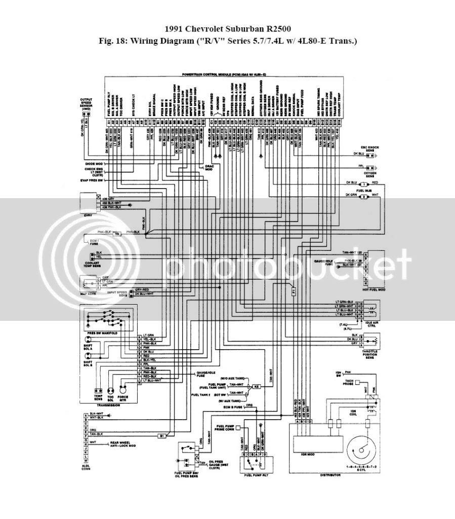 1991 Chevrolet Van Wiring Diagram