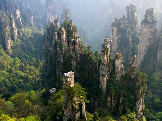 Zhangjiajie, National Forest Park In China