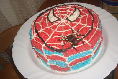 30th Birthday Cake Ideas Spiderman Birthday Cake Party Ideas